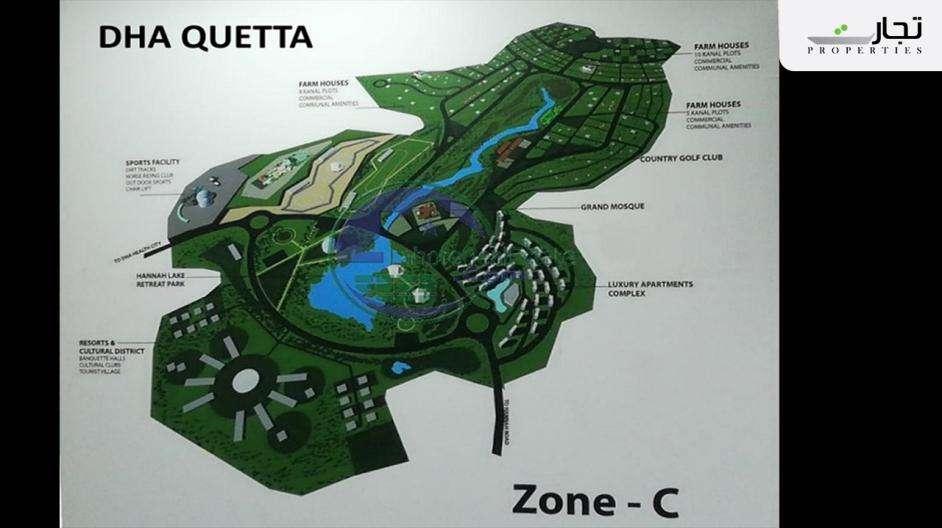 Zone C (Farmhouses & Recreational, 1800 Acres)