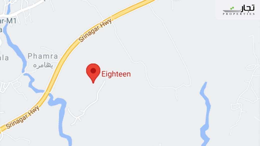 Eighteen Islamabad Location