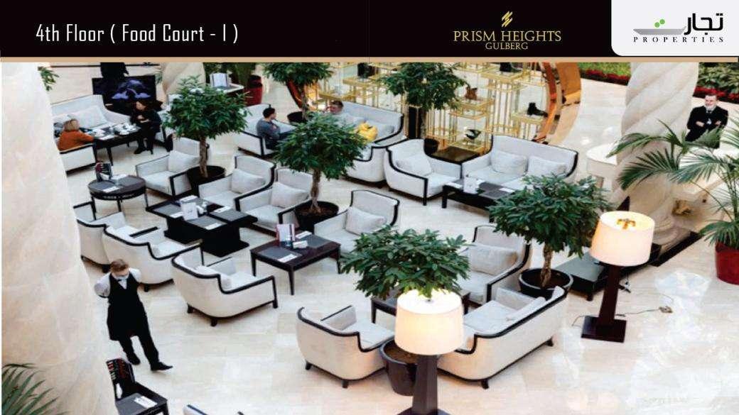 Prism Heights (Food Court -1) 4thLevel Floor Plan