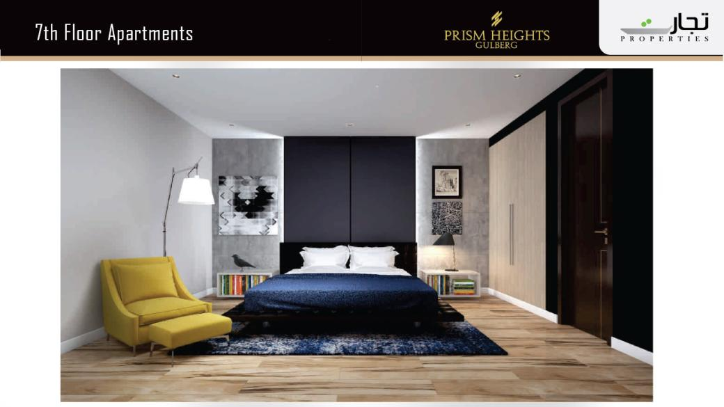 Prism Heights Apartments 7thLevel Floor Plan