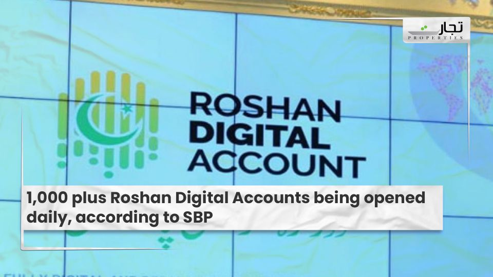 1,000 plus Roshan Digital Accounts being opened daily, according to SBP