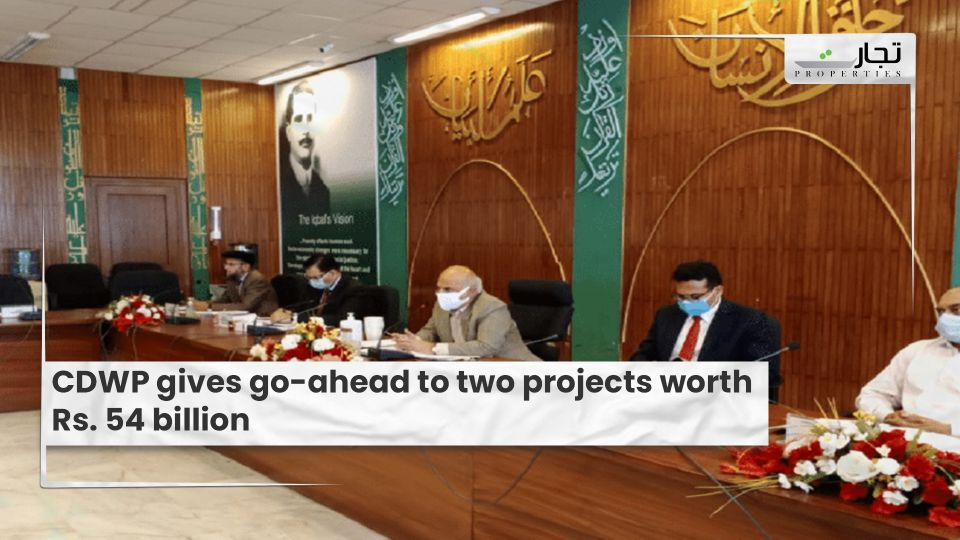 CDWP gives go-ahead to two projects worth Rs. 54 billion