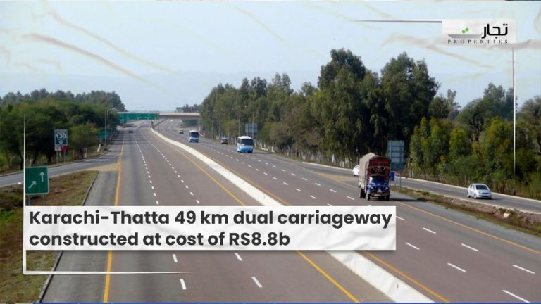 Karachi-Thatta-49-km-dual-carriageway-constructed-at-cost-of-RS8.8b