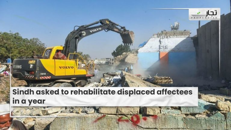 Sindh-asked-to-rehabilitate-displaced-affectees-in-a-year