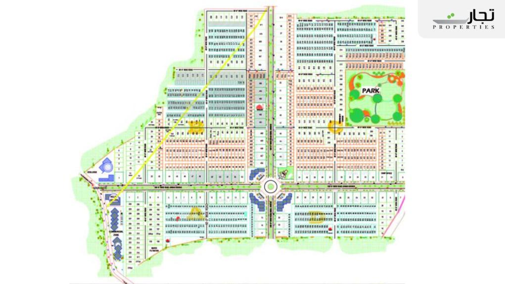 Paradise City Nowshera Master Plan