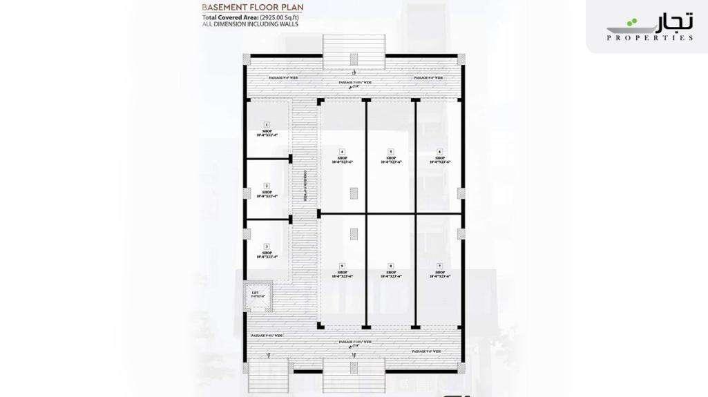 Multi Residencia & Orchards Basement Floor Plan