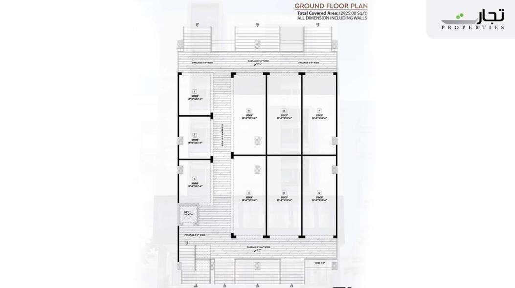 Multi Residencia & Orchards Ground Floor Plan