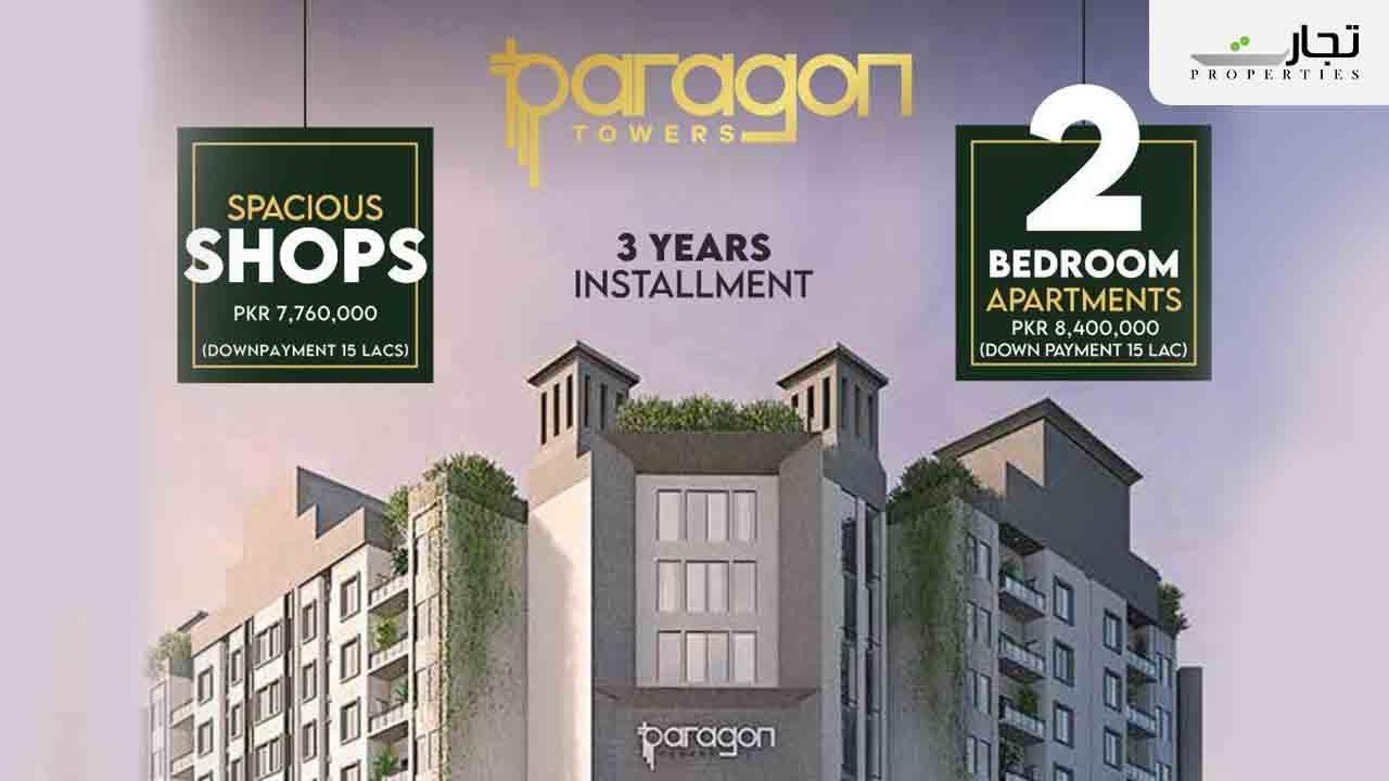 Paragon Towers Bahria Town Karachi Payment Plans
