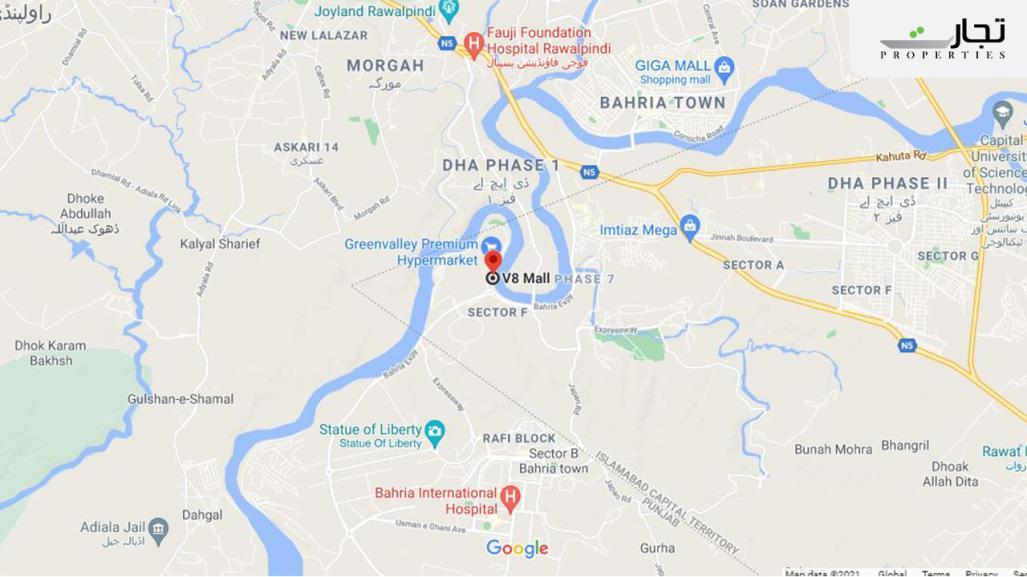 V8 Mall Islamabad Location