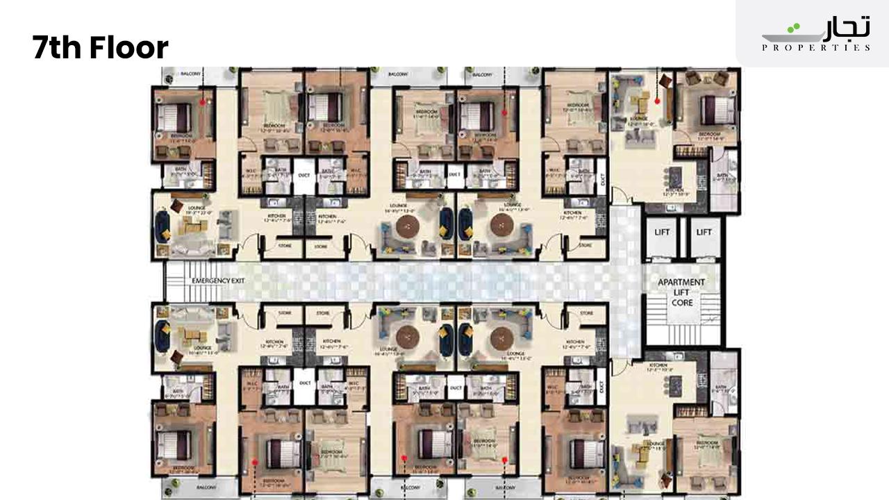 Mall of Hangu 7th Floor Plan