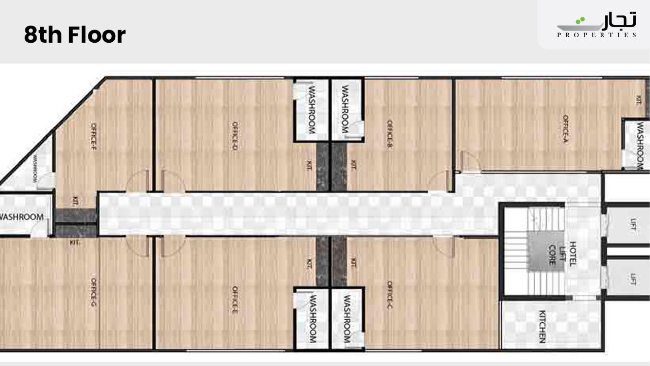 Mall of Hangu 8th Floor Plan