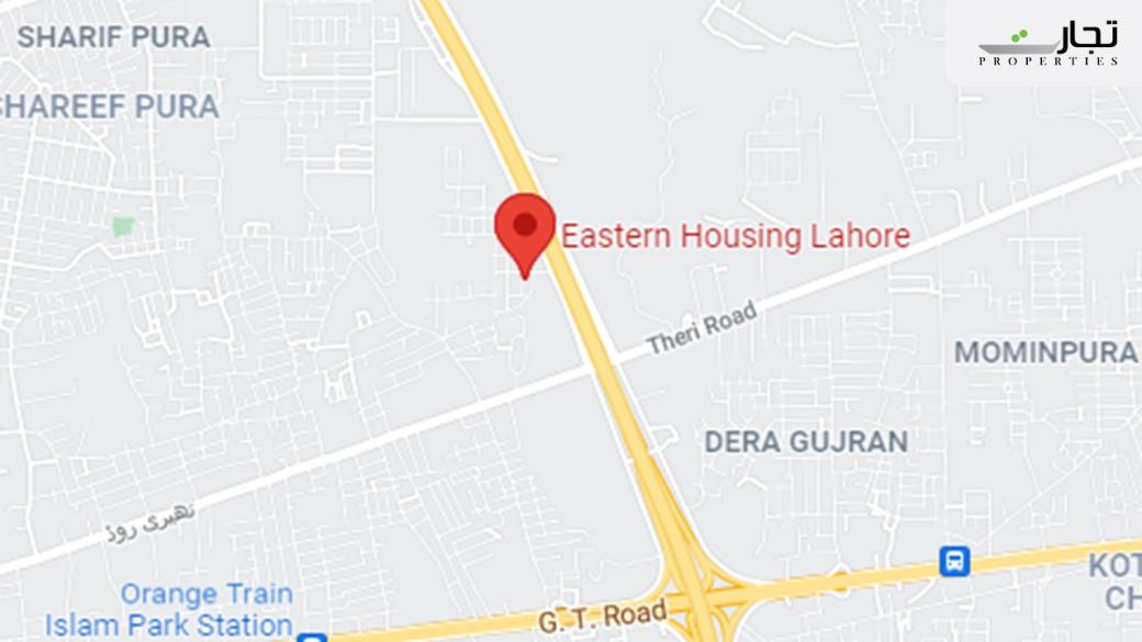 Eastern Housing Scheme Lahore Location