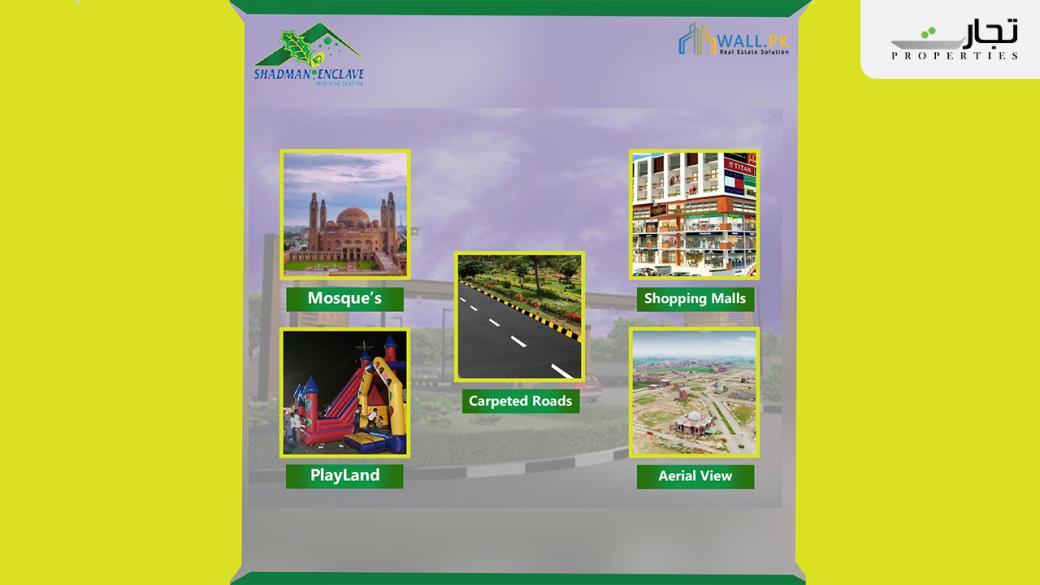 Salient Features of Shadman Enclave Lahore