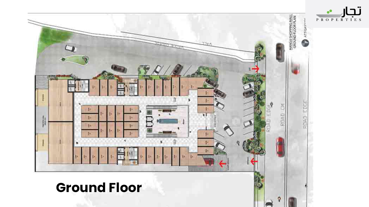 Mall of Hangu Ground Floor Plan