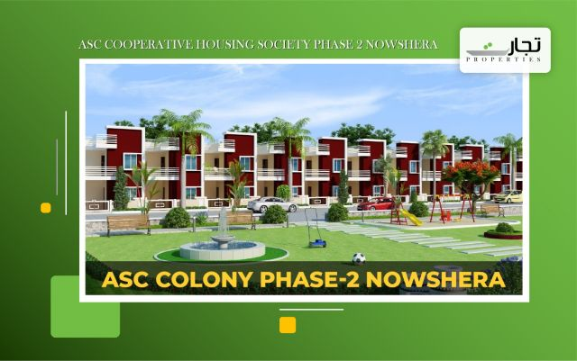 ASC Cooperative Housing Society Phase 2 Nowshera