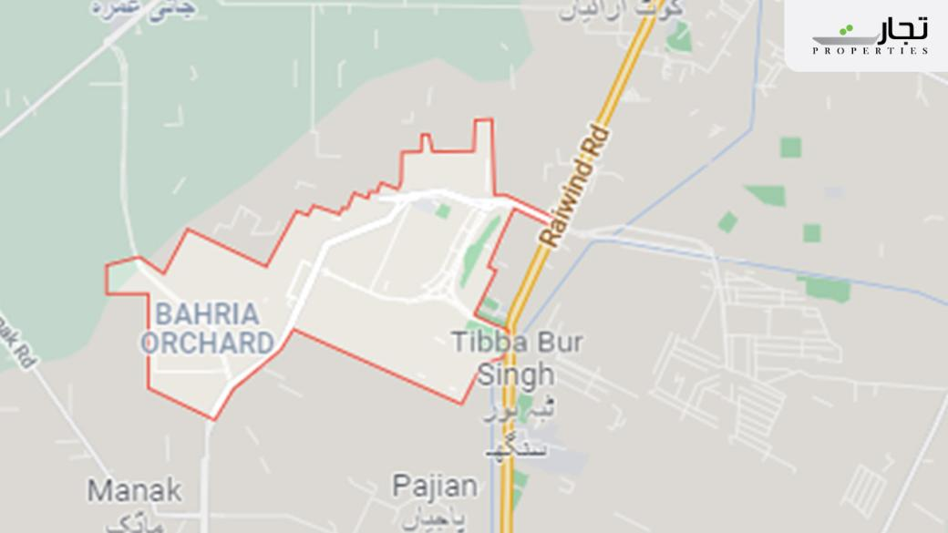 Bahria Orchard Phase 1 Lahore Location
