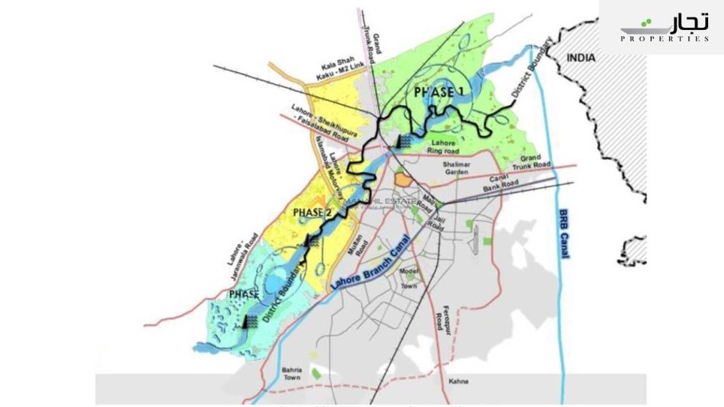 Ravi Riverfront City Lahore Master Plan